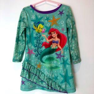 4/$25 Disney-The Little Mermaid Nightgown w/Ruffle